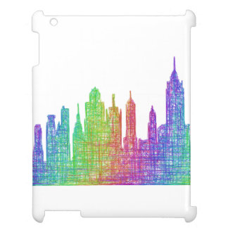 New York skyline Cover For The iPad