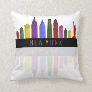 new york skyline cushion