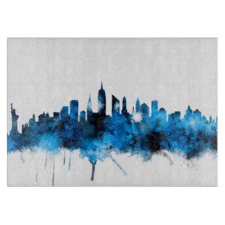 New York Skyline Cutting Board