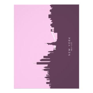 New York Skyline Custom Flyer