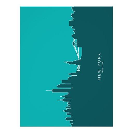 New York Skyline Full Colour Flyer