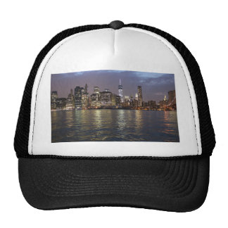 New York skyline Hudson River World Trade Center Cap