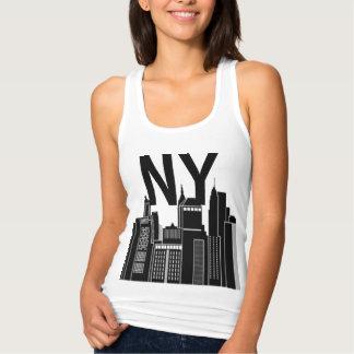NEW YORK SKYLINE IMAGE TANK TOP