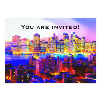 New York Skyline Invitation