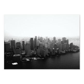 New York Skyline Custom Invites