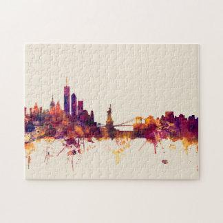 New York Skyline Jigsaw Puzzle