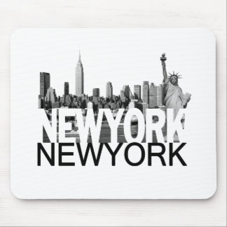 New York Skyline Mouse Pads