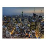 New York Skyline Postcards