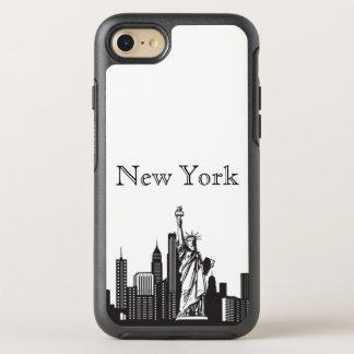 New York Skyline Silhouette Case