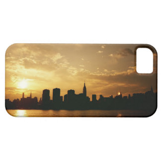 New York Skyline Sunset Case For The iPhone 5