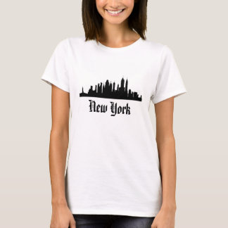 """NEW YORK"" skyline t-shirt"