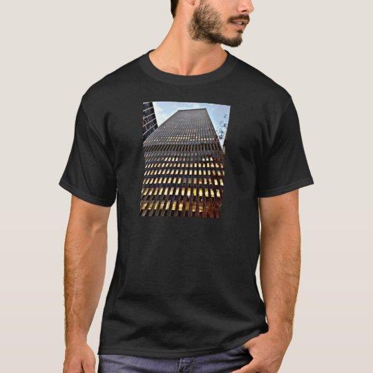 New York Skyscraper at Dusk Photo Print T-Shirt