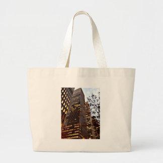 New York Skyscrapers at Dusk Tote Bag
