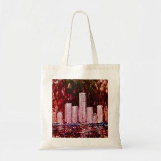 New York Skyscrapers Bag Budget Tote Bag