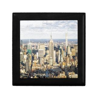 New York Small Square Gift Box