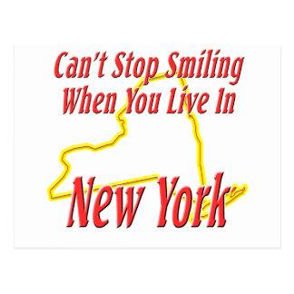 New York - Smiling Postcard