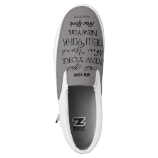 New York Sneakers Your City State Custom Slip On