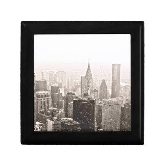 New York Snow Small Square Gift Box