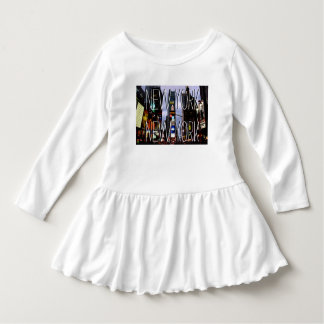 New York Souvenir Baby Dress Custom Toddler Dress