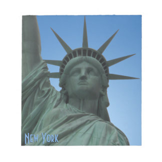 New York Souvenir Notepad Statue of Liberty Gifts