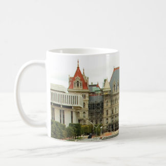 New York State Capitol Building in Albany Coffee Mug