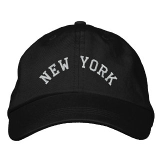 New York State Embroidered Embroidered Hat