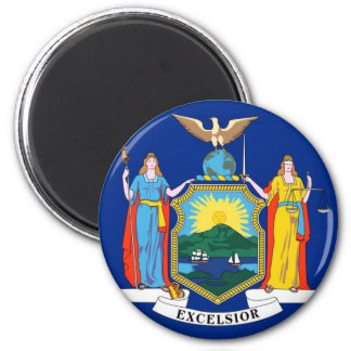 New York State Flag Magnet