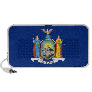New York State Flag Laptop Speakers