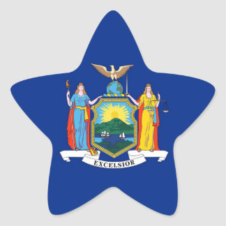 New York State Flag Stickers