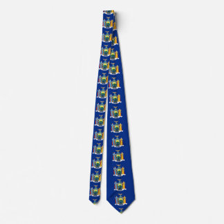 NEW YORK STATE FLAG TIE