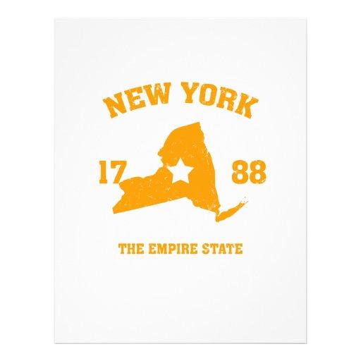New York state Flyer