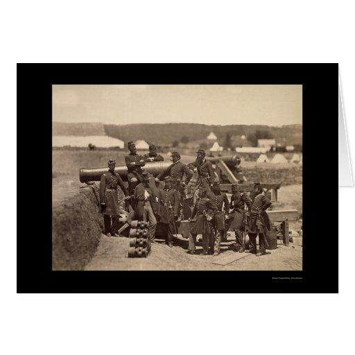 New York State Militia, Fort Corcran, VA 1861 Greeting Cards