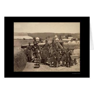 New York State Militia, Fort Corcran, VA 1861 Greeting Card