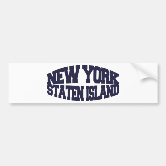 New York staten island Bumper Sticker
