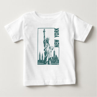 New York-Statue of Liberty Baby T-Shirt