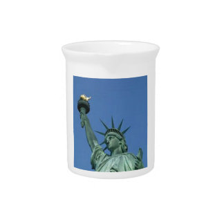 NEW YORK STATUE OF LIBERTY BEVERAGE PITCHERS