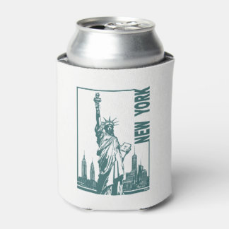 New York-Statue of Liberty Can Cooler