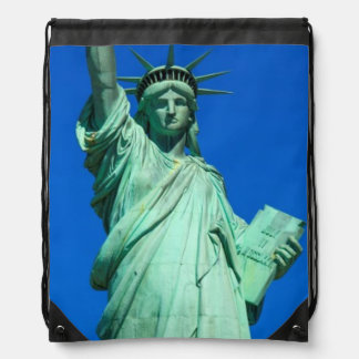 New-York, Statue of Liberty Drawstring Bag
