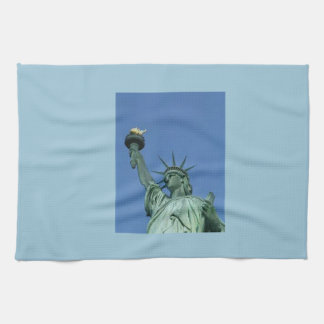 NEW YORK STATUE OF LIBERTY HAND TOWEL