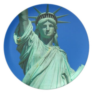 New-York Statue of Liberty Dinner Plate