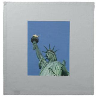 NEW YORK STATUE OF LIBERTY PRINTED NAPKIN