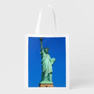 New-York, Statue of Liberty Reusable Grocery Bag