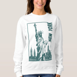 New York-Statue of Liberty Sweatshirt