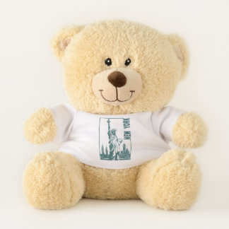 New York-Statue of Liberty Teddy Bear