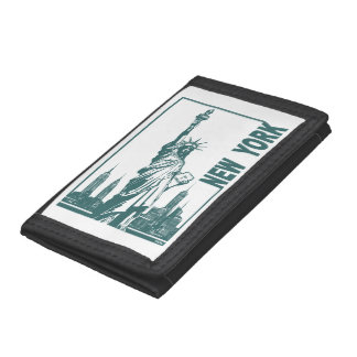 New York-Statue of Liberty Trifold Wallet