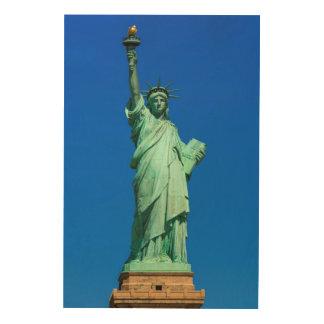 New-York, Statue of Liberty Wood Wall Art