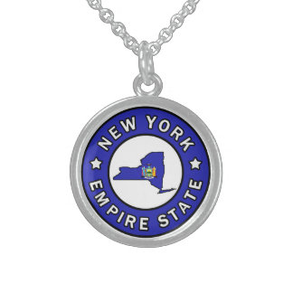 New York Sterling Silver Necklace