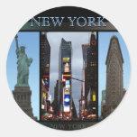 New York Stickers Cool New York Souvenir Stickers