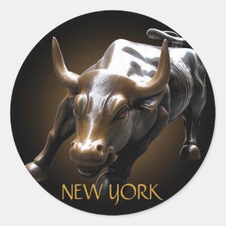 New York Stickers New York Bull Souvenir Stickers