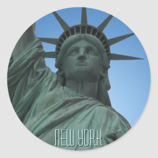 New York Stickers NYC Statue of Liberty Stickers
